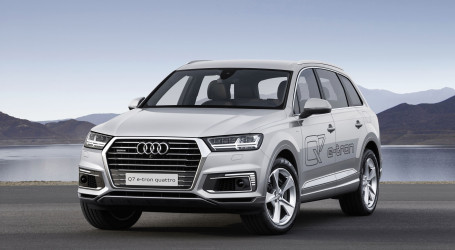 Audi Q7 e-tron 2015 review