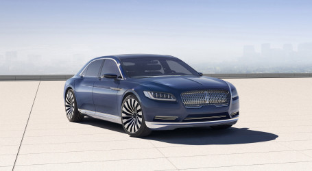 New Lincoln Continental to Be Built in Michigan