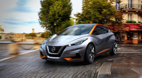 Nissan Sway Previews Future Supermini Design in Geneva