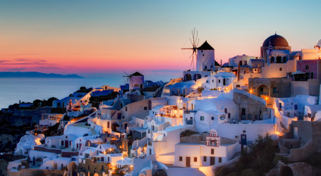 Santorini, iconic of Greek islands
