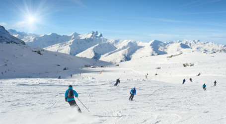 Val Thorens – the highest resort in Europe