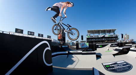 BMX riders fight to keep indoor pool park